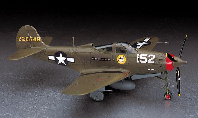 Hasegawa 1/48 P-39Q/N Airacobra JT93