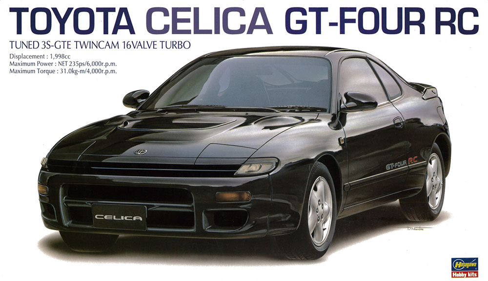 Hasegawa 1/24 Toyota Celica GT-FOUR RC