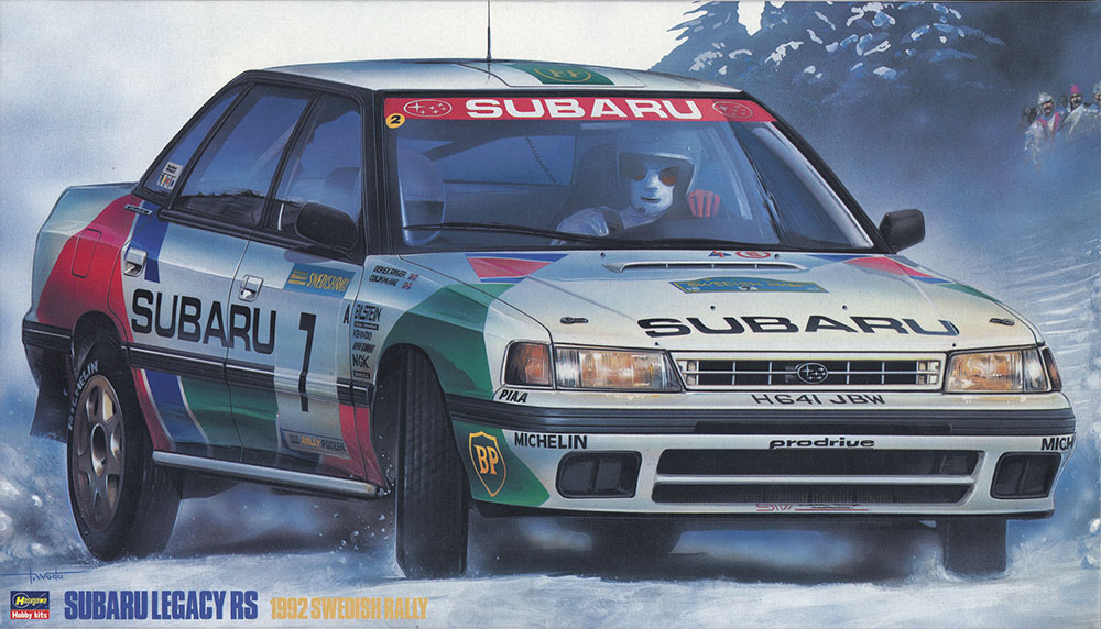 Hasegawa 1/24 Subaru Legacy RS 1992