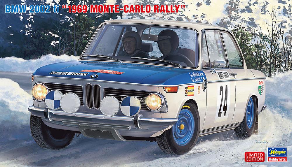 Hasegawa 1/24 BMW 2002 TI 1969 Monte