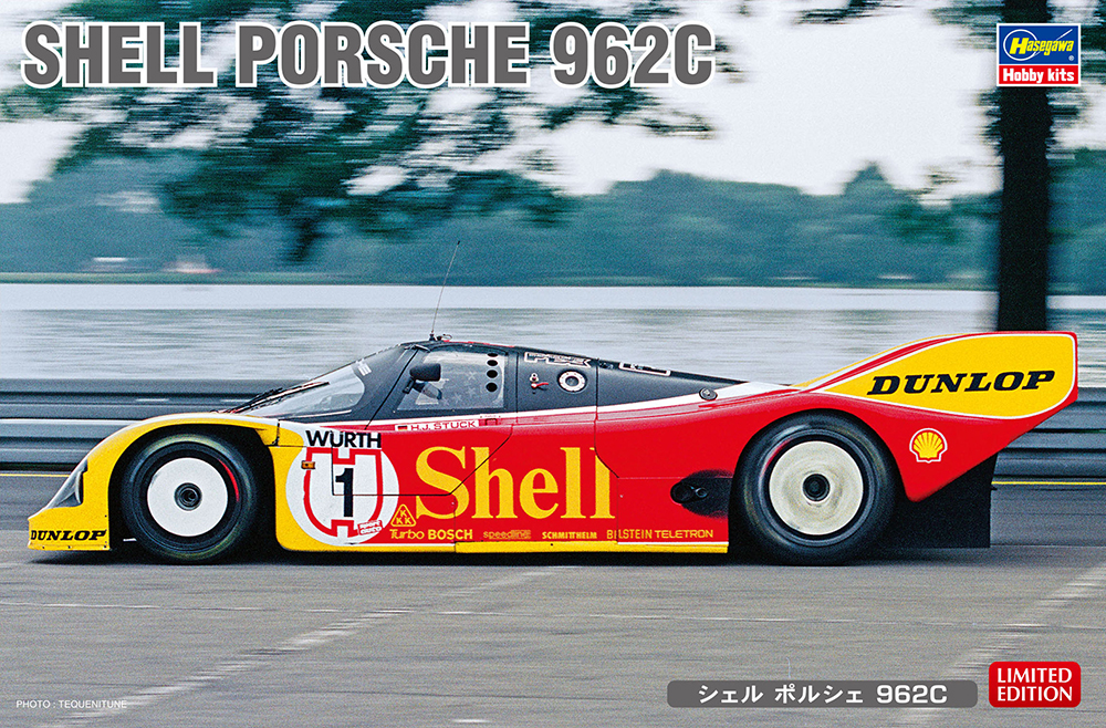 Hasegawa 1/24 Shell Porsche 962C
