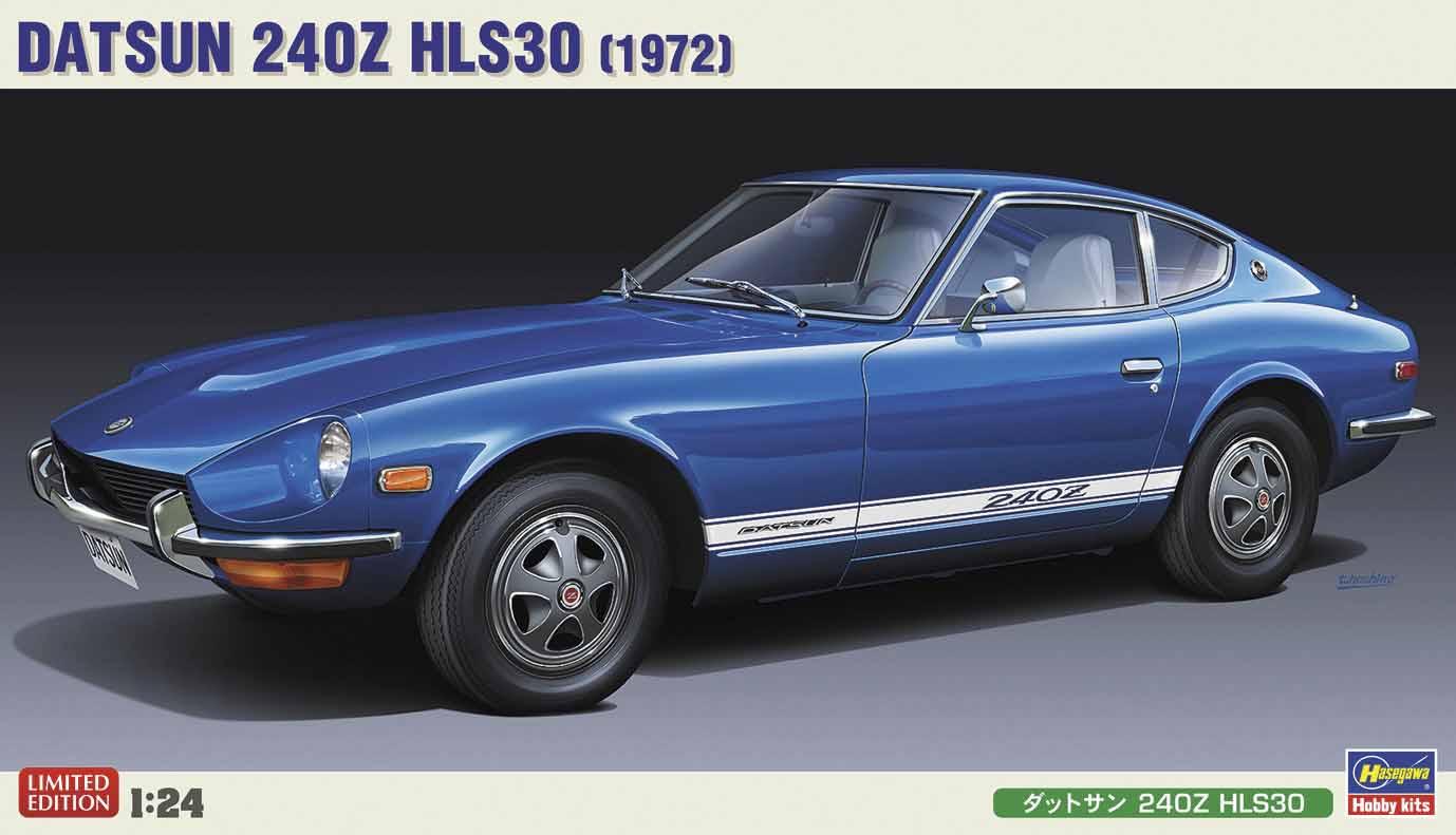 Hasegawa 1/24  Datsun 240Z HLS30 left-hand drive version