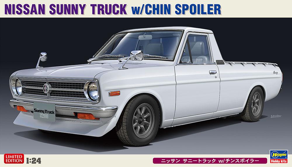 Hasegawa 1/24 Nissan Sunny Truck W/ Chin Spoiler