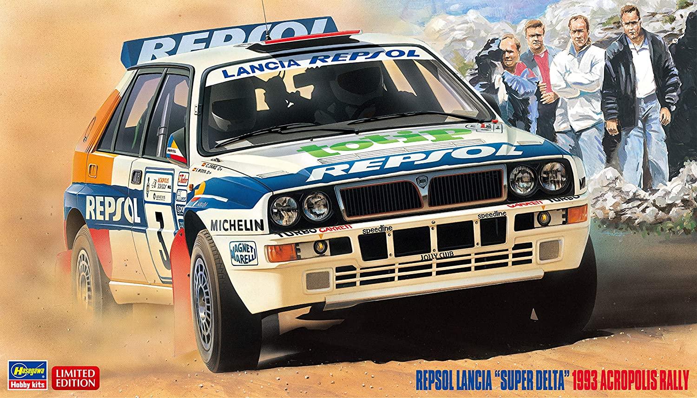 """Hasegawa 1/24 Repsol Lancia """"Super Delta"""" 1993 Acropolis Rally"""