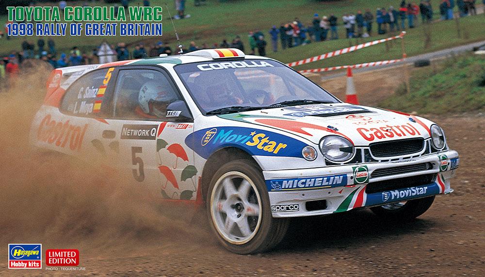 Hasegawa 1/24 Toyota Corolla WRC 1998