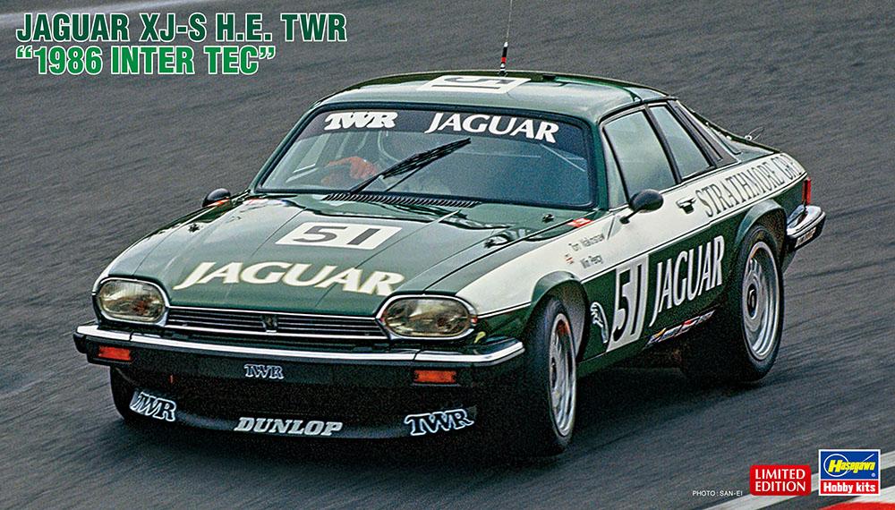 """Hasegawa 1/24 Jaguar XJ-S H.E.TWR""""1986 Inter TEC"""""""