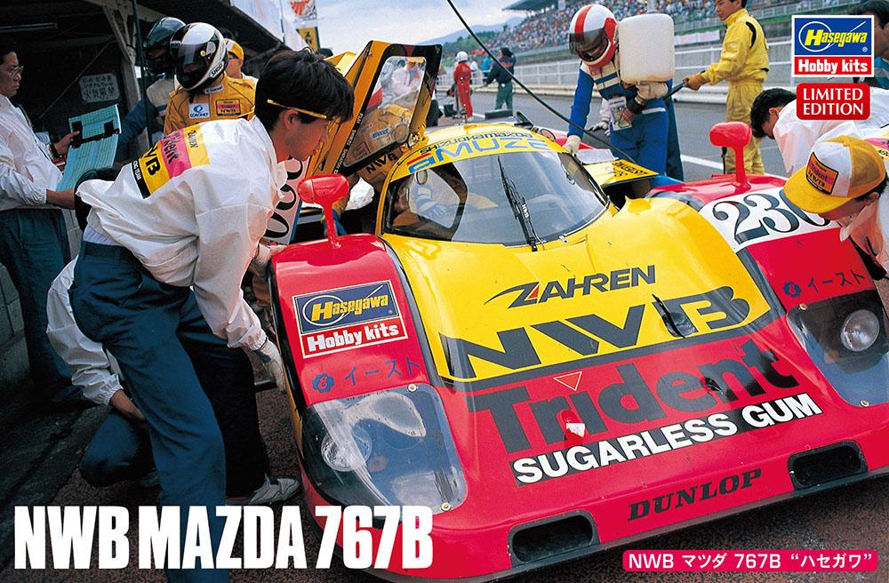Hasegawa 1/24 NWB Mazda 767B