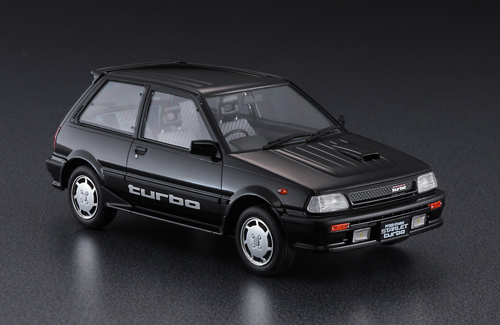 Hasegawa 1/24 Toyota Starlet EP71 Turbo-S (3Door) Ealy Version