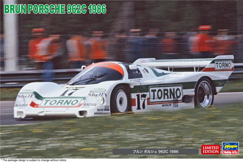 Hasegawa 1/24 BRUN Porsche 962C 1986