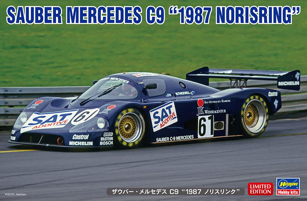 "Hasegawa 1/24 SAUBER MERCEDES C9 ""1987 NORISRING"""