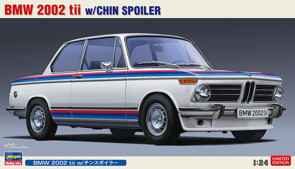 Hasegawa 1/24 BMW 2002 tii w/CHIN SPOIL