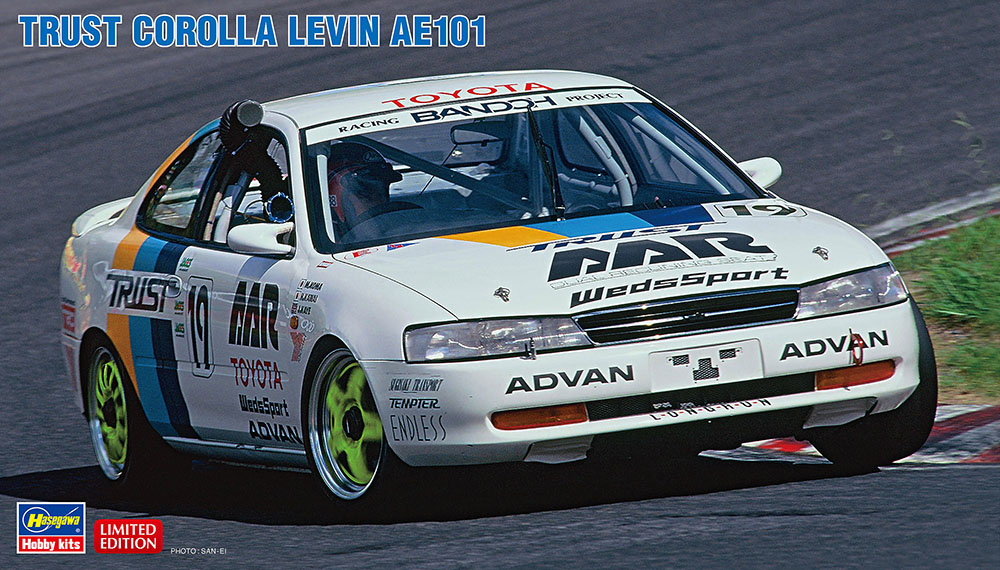 Hasegawa 1/24 Trust Corolla Levin AE101