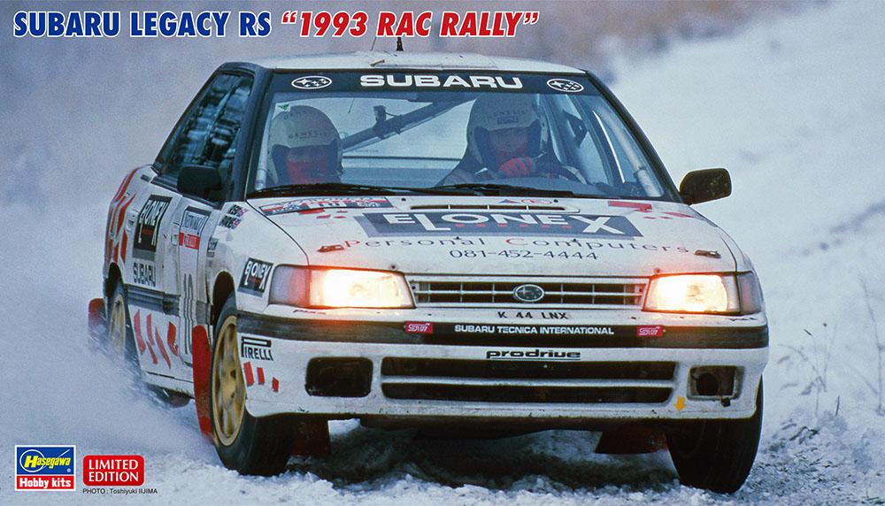 Hasegawa 1/24 Subaru Legacy RS 1993 RAC