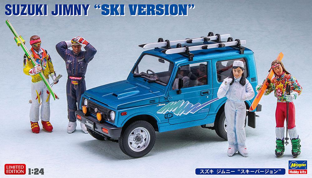 Hasegawa 1/24 Suzuki Jimny Ski Version