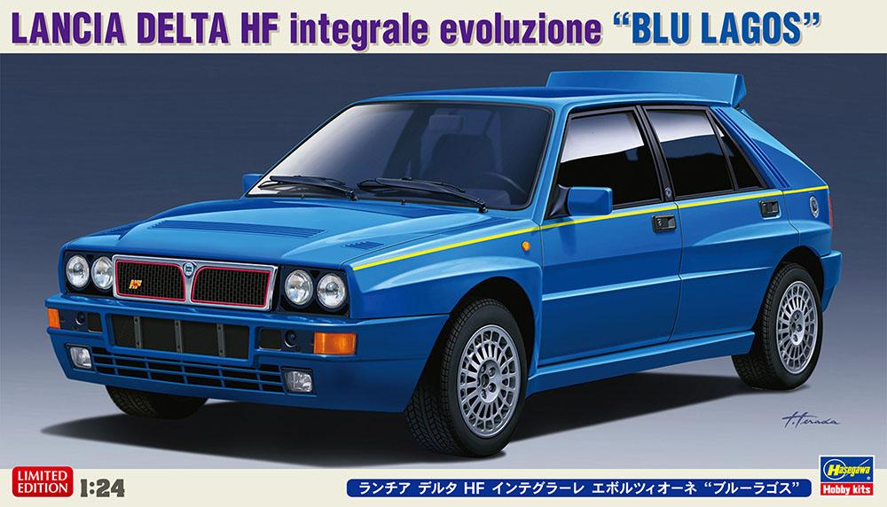 """Hasegawa 1/24 Lancia Delta HF Integrale Evoluzione """"Blue Lagos"""""""