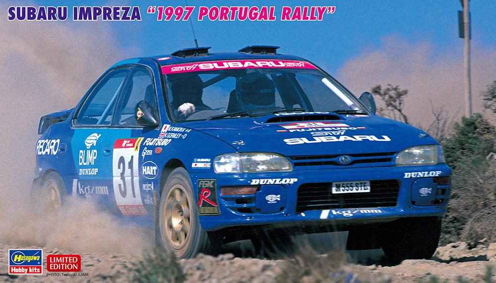 """Hasegawa 1/24 Subaru Impreza """"1997 Portugal Rally"""""""