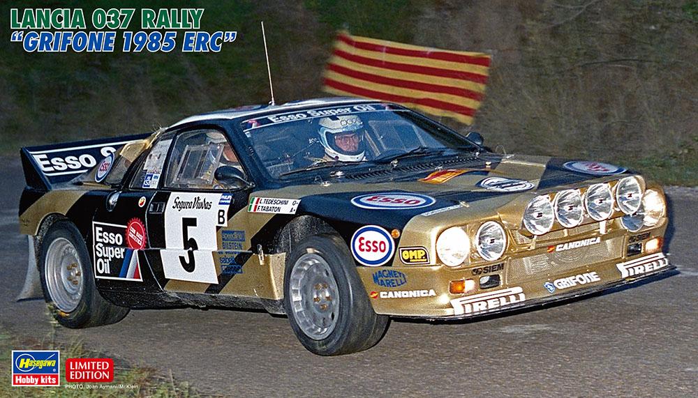 """Hasegawa 1/24 Lancia 037 Rally """"Grifone 1985 ERC"""""""