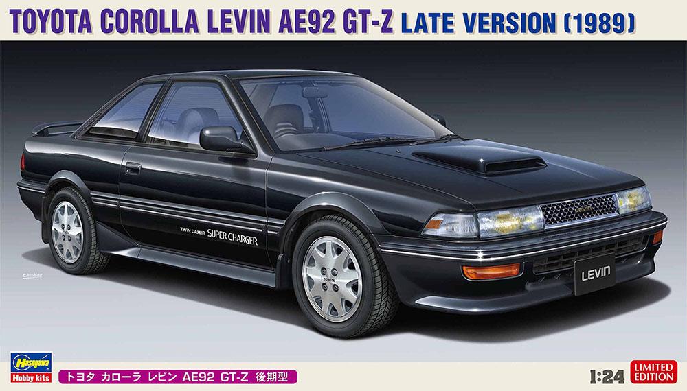 Hasegawa 1/24 Toyota Corolla Levin AE92 GT-Z Late Version (1989)