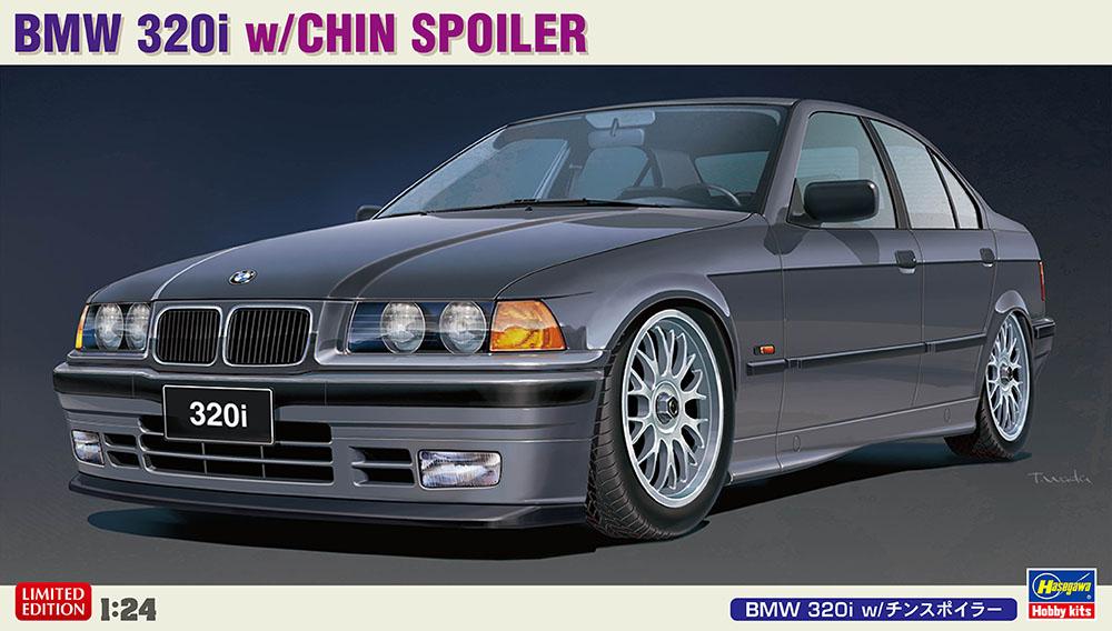 Hasegawa 1/24 BMW 320i with Chin Spoiler