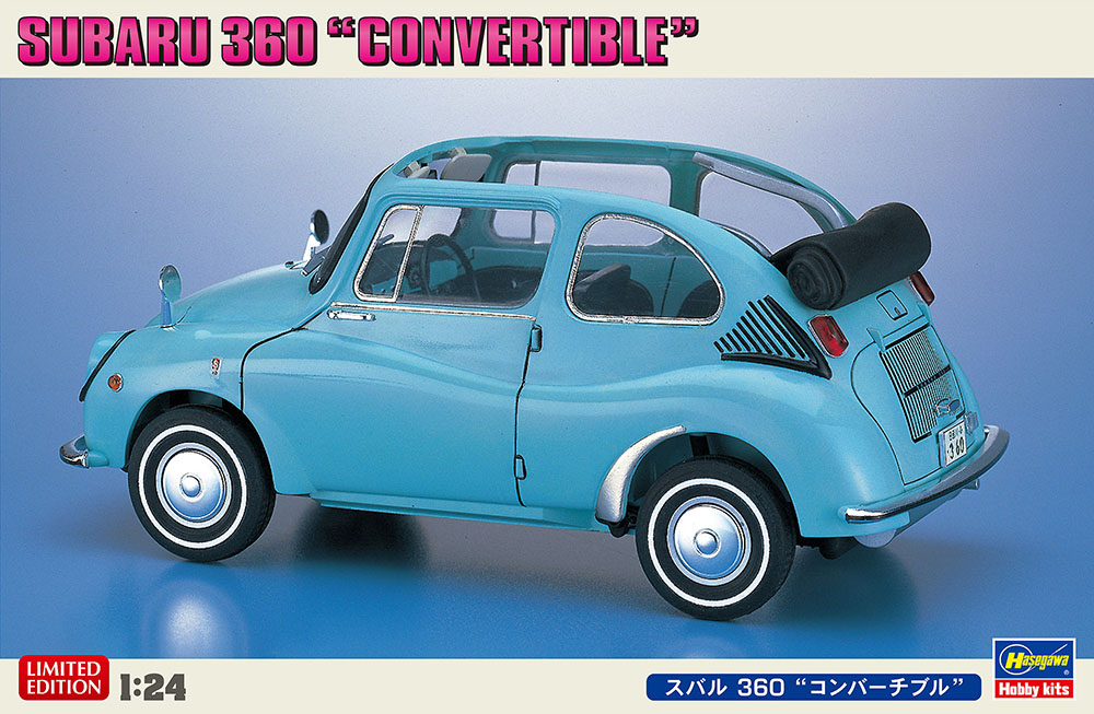Hasegawa 1/24 Subaru 360 Convertible
