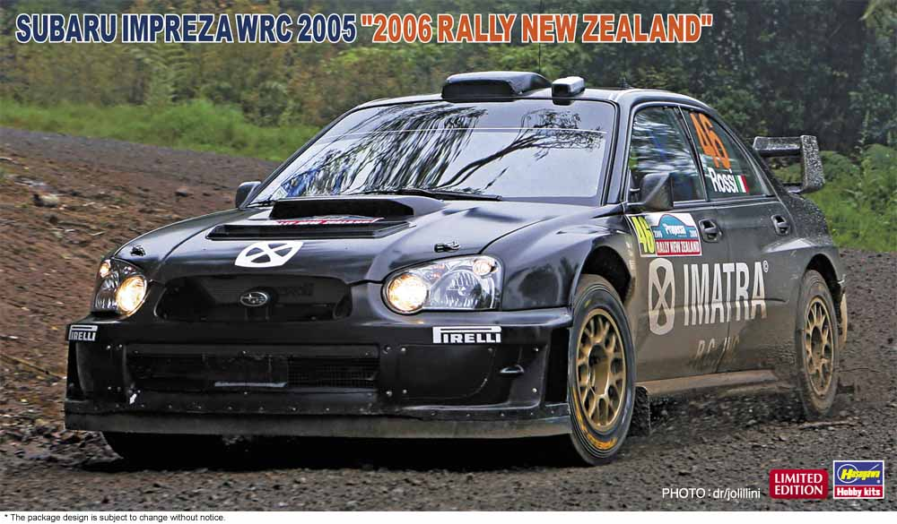 "Hasegawa 1/24 Subaru Impreza WRC 2005 ""2006 Rally New Zealand"""