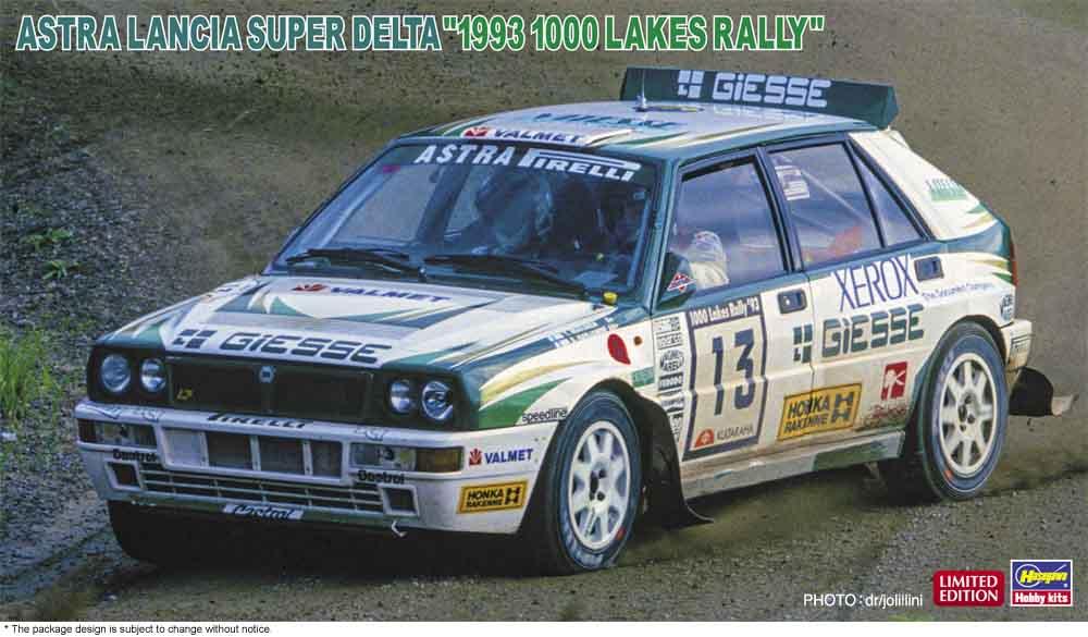 "Hasegawa 1/24 Astra Lancia Super Delta ""1993 1000 Lakes Rally"""