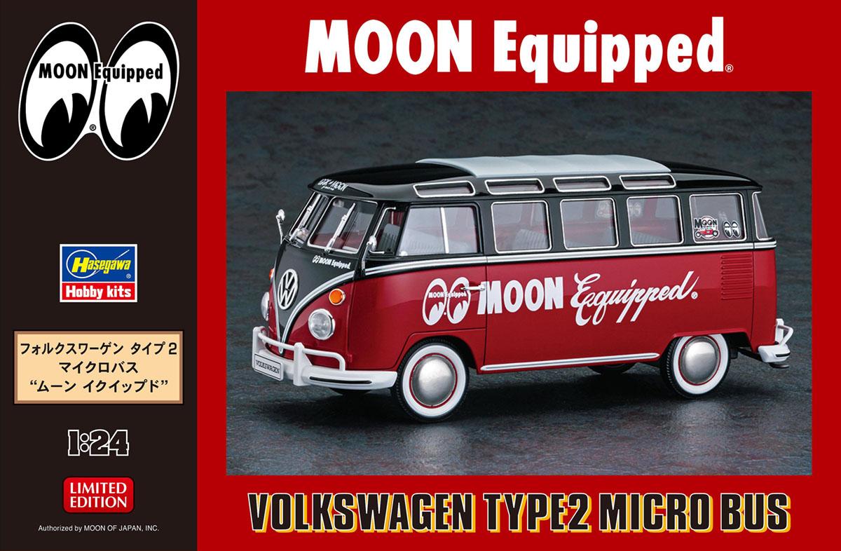 "Hasegawa 1/24 Volkswagen Type 2 Micro Bus ""Moon Equipped"""