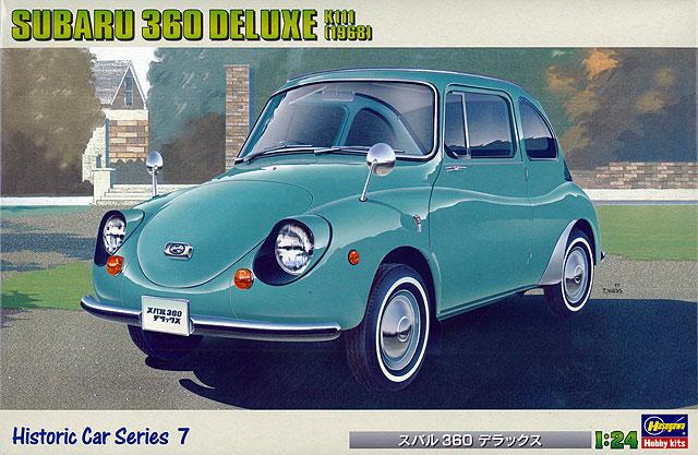 Hasegawa 1/24 Subaru 360 Deluxe K111 (1968)