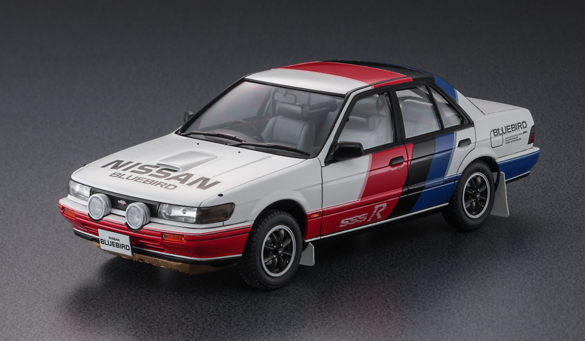 Hasegawa 1/24 Nissan Bluebird 4Door Sedan SSS-R (U12) Early (HC35)