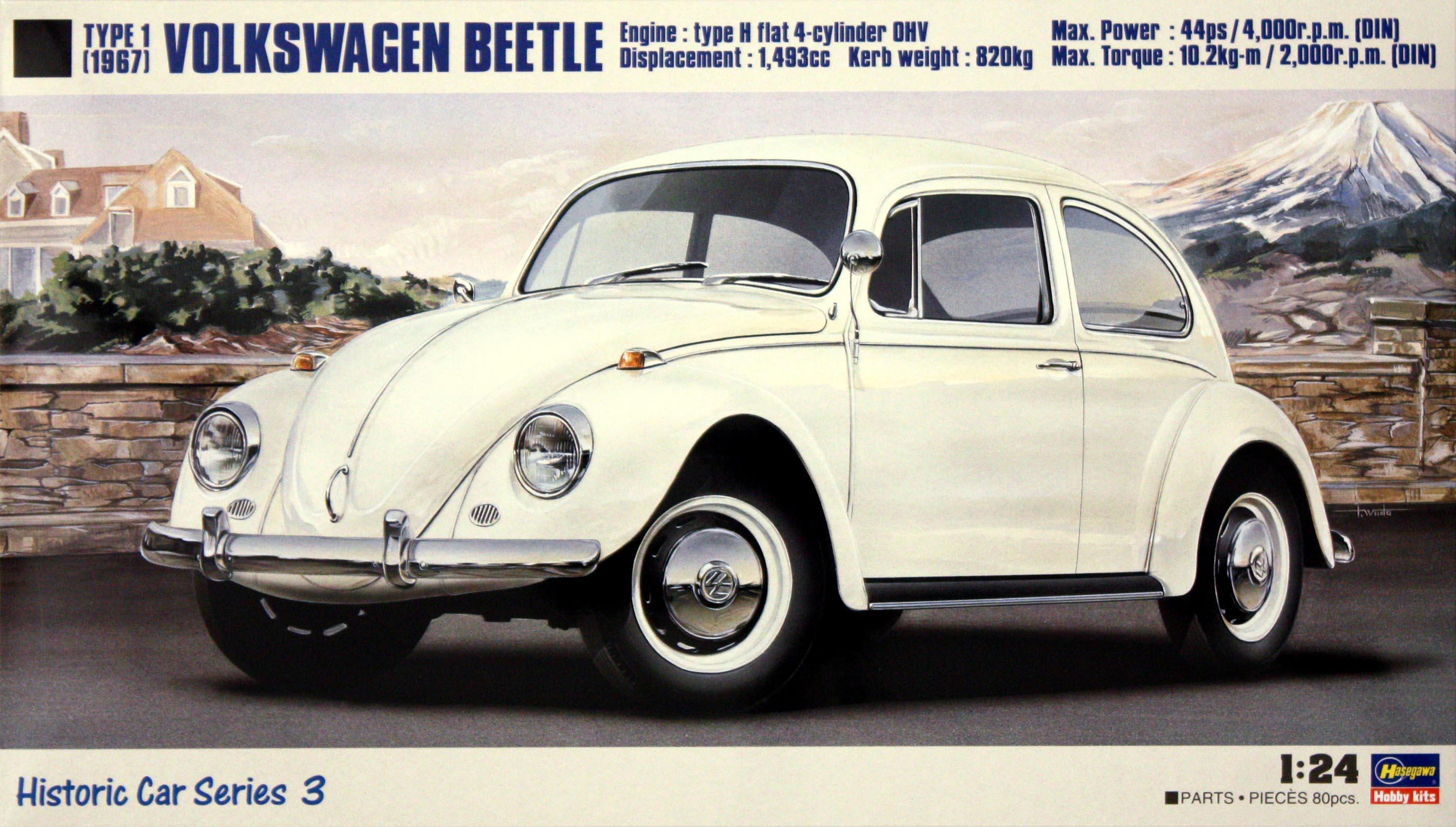 "Hasegawa Volkswagen Beetle ""1967"""