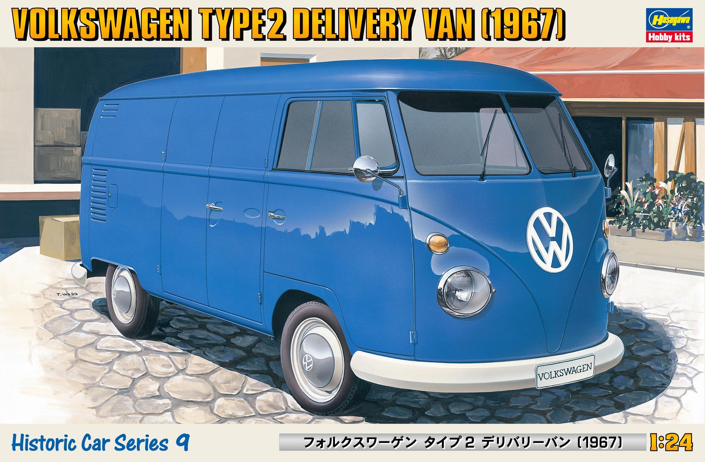 """Hasegawa Volkswagen Type 2 Delivery Van """"1967"""""""