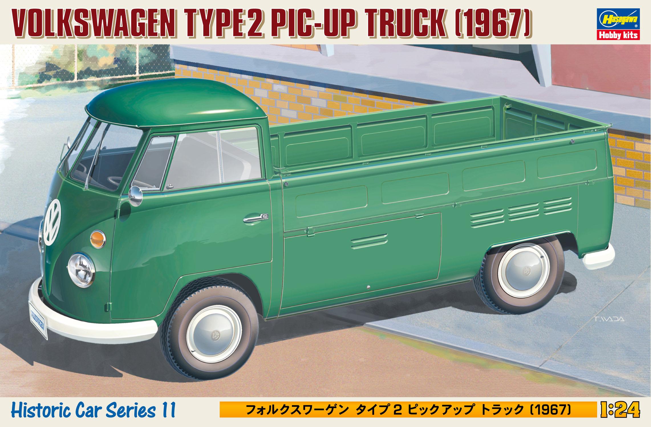 """Hasegawa Volkswagen Type 2 Pic-Up Truck """"1967"""" HC11"""