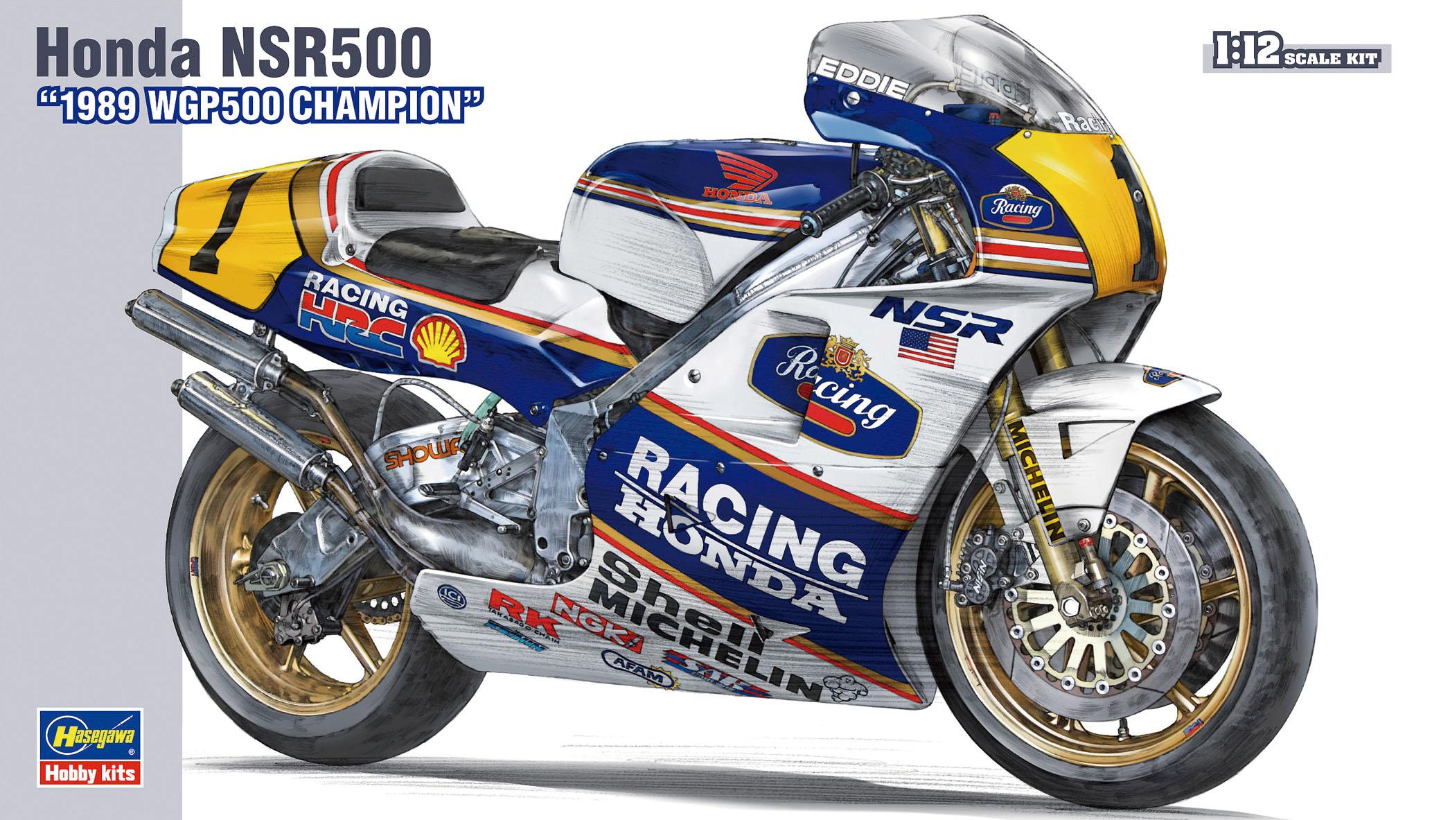"Hasegawa Honda Nsr500 ""1989 Wgp500 Champion"" BK4"