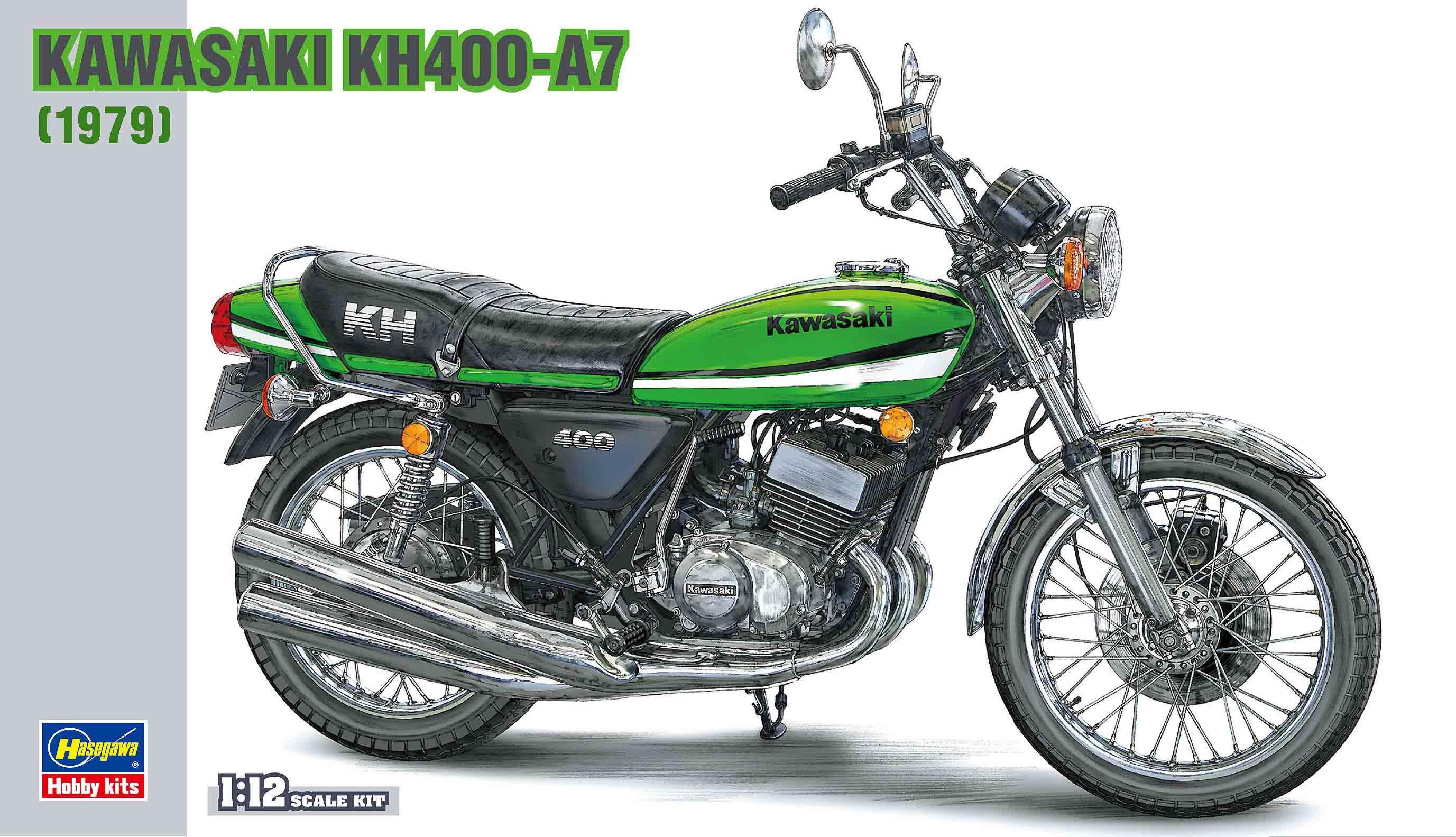 Hasegawa Kawasaki Kh400-A7