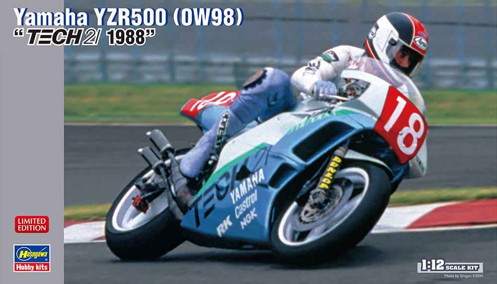 """Hasegawa 1/12 Yamaha YZR500 (0W98)""""TECH21 1988"""""""