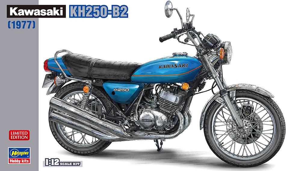 Hasegawa 1/12 Kawasaki KH250-B2