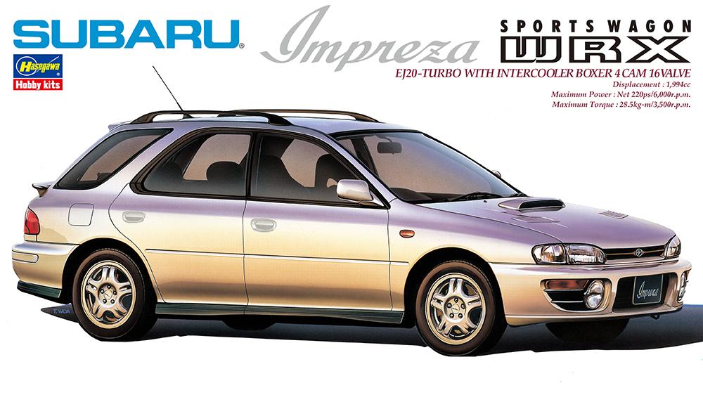Hasegawa 1/24 Subaru Impreza WRX Sports Wagon Type Car