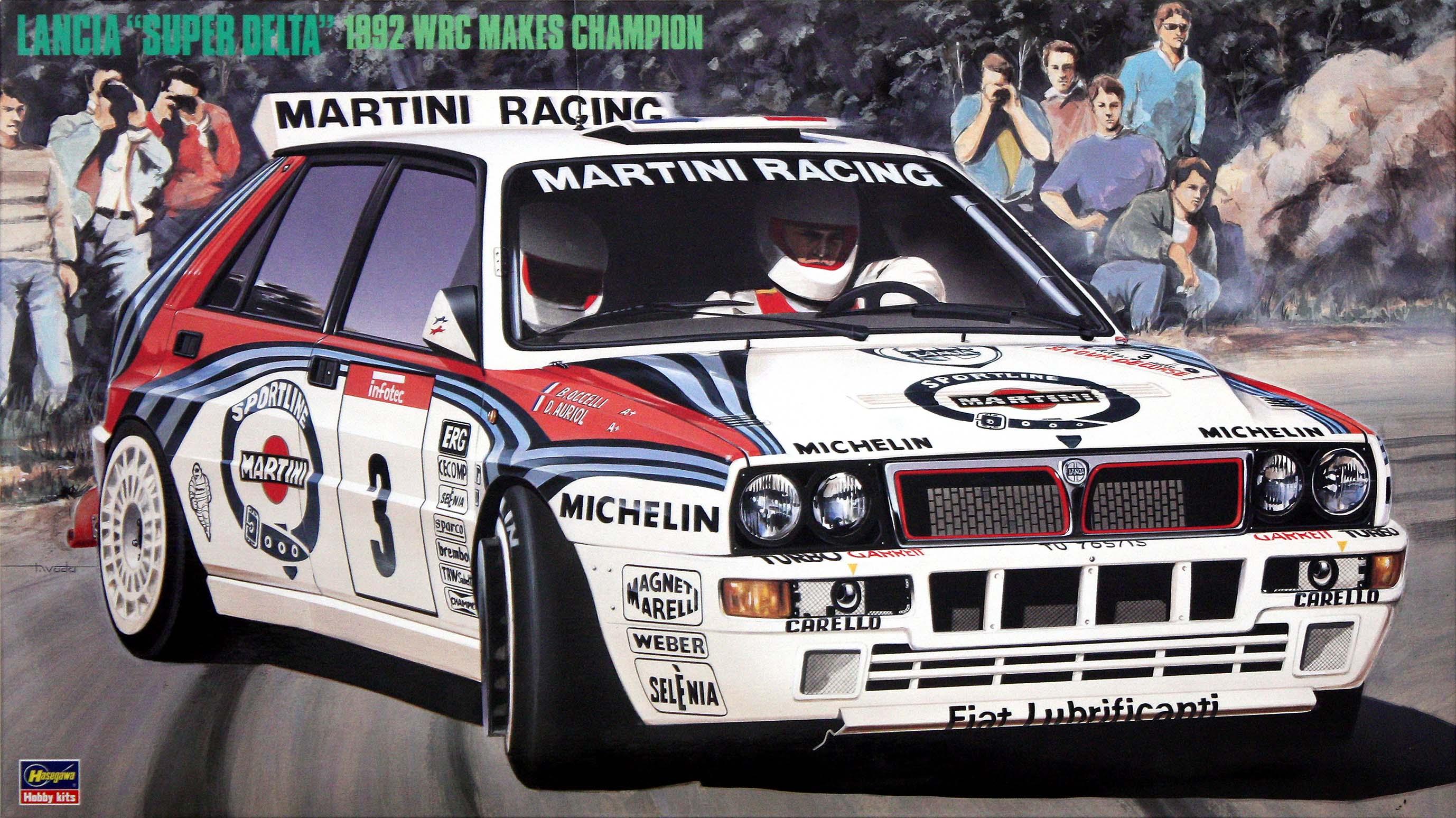 "Hasegawa Lancia ""Super Delta"" ('92 Wrc Makes Champion)"