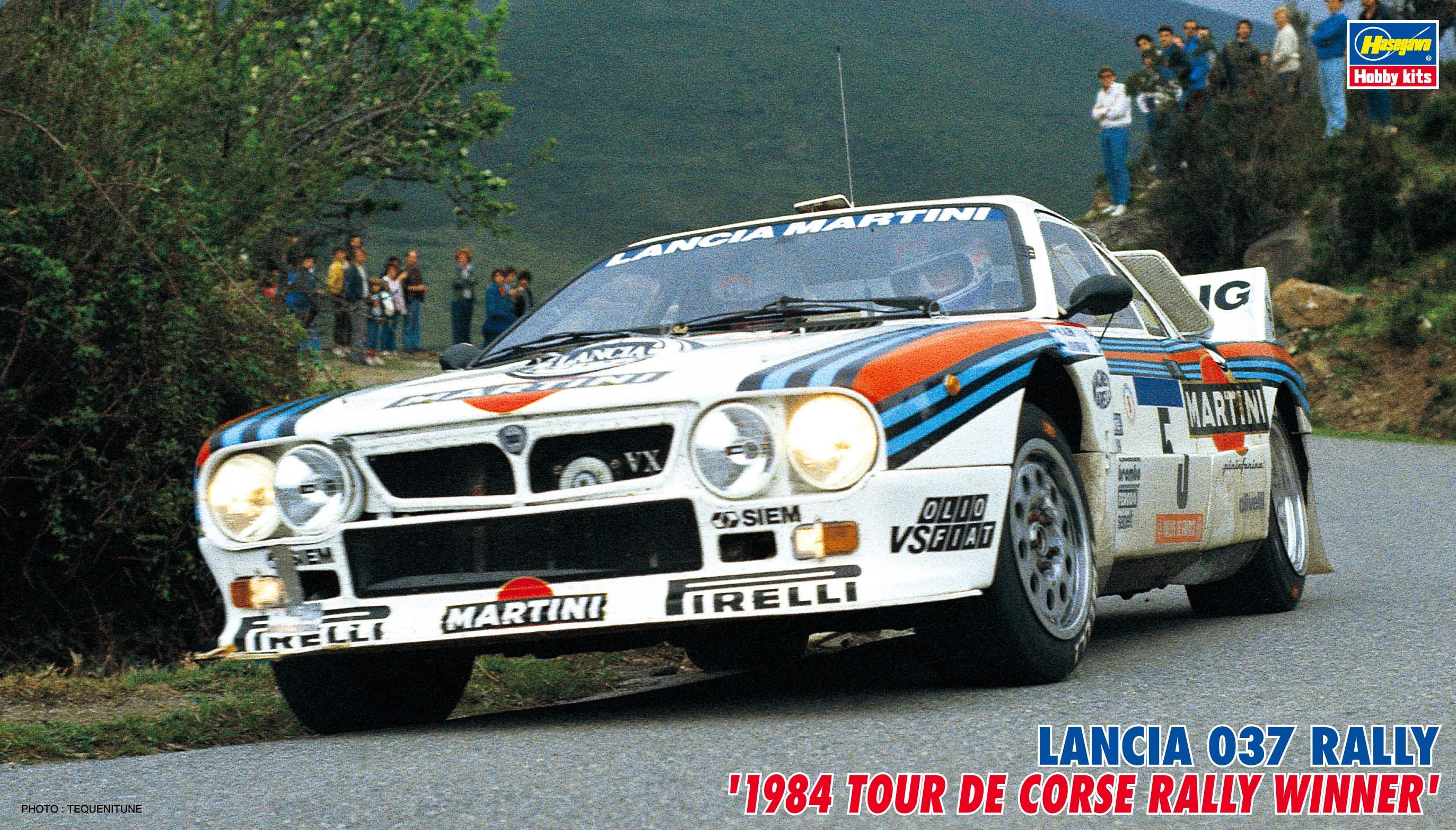 Hasegawa Lancia 037 Rally ('84 Tour De Corse Rally Winner) CR30