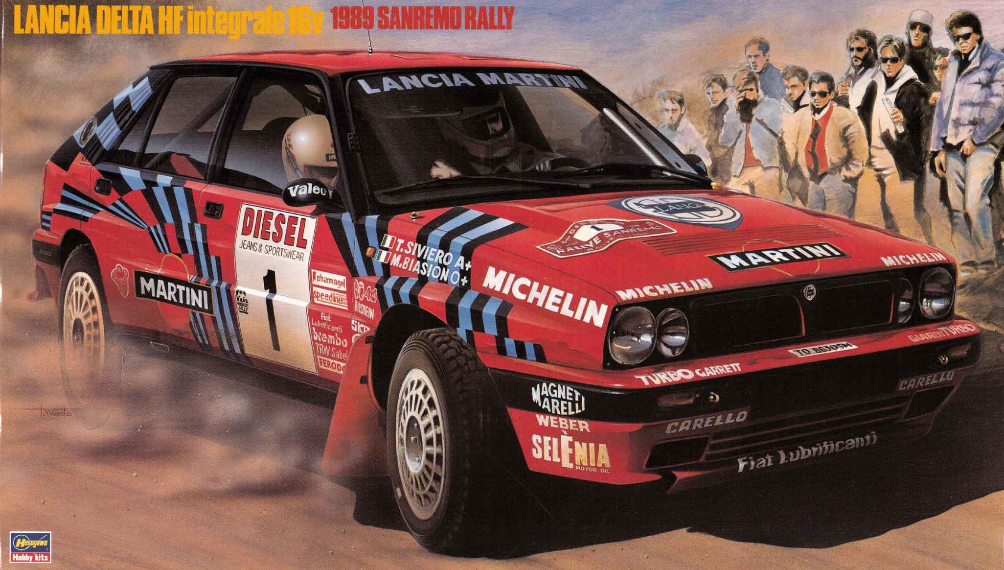 Hasegawa 1/24 Lancia Delta Hf Integrale 16V (1989 Sanremo Rally)