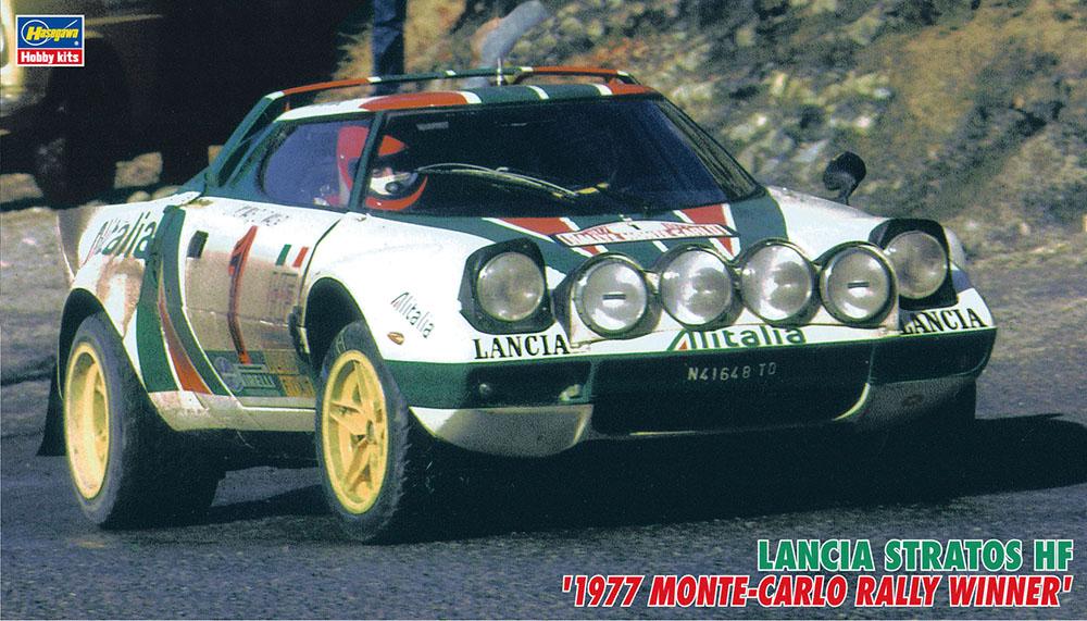Hasegawa 1/24 Stratos '77 Monte-Carlo (CR32)