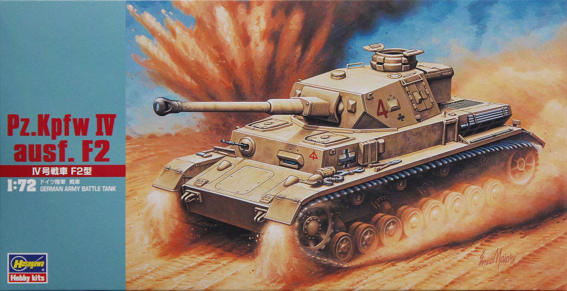 Hasegawa Pz.Kpfw IV Ausf. F2