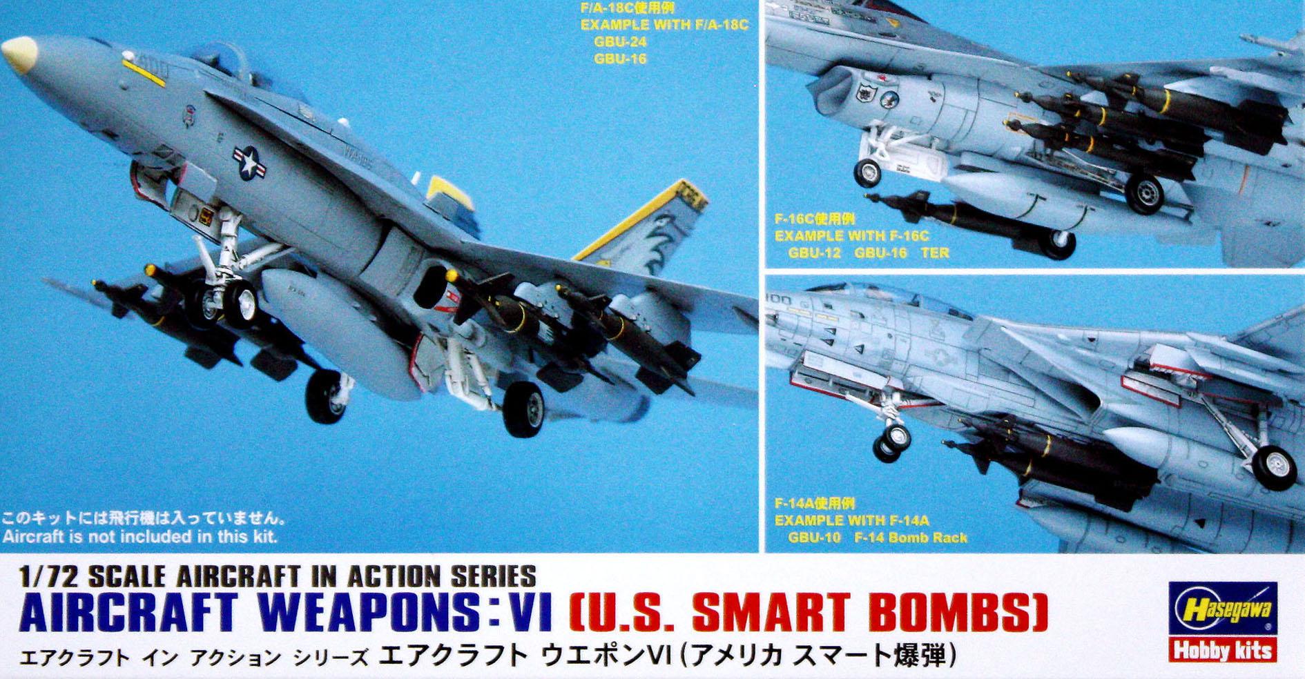 Hasegawa 1/72 US Aircraft Weapons VI