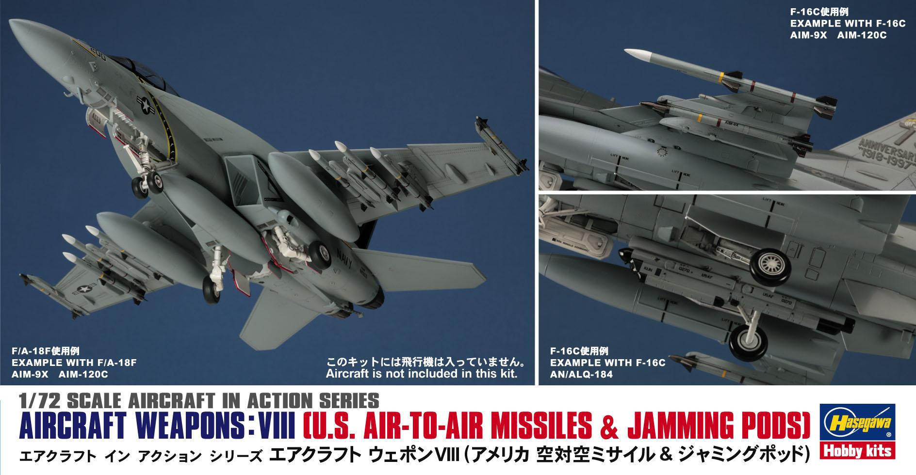 Hasegawa 1/72 Aircraft Weapons VIII