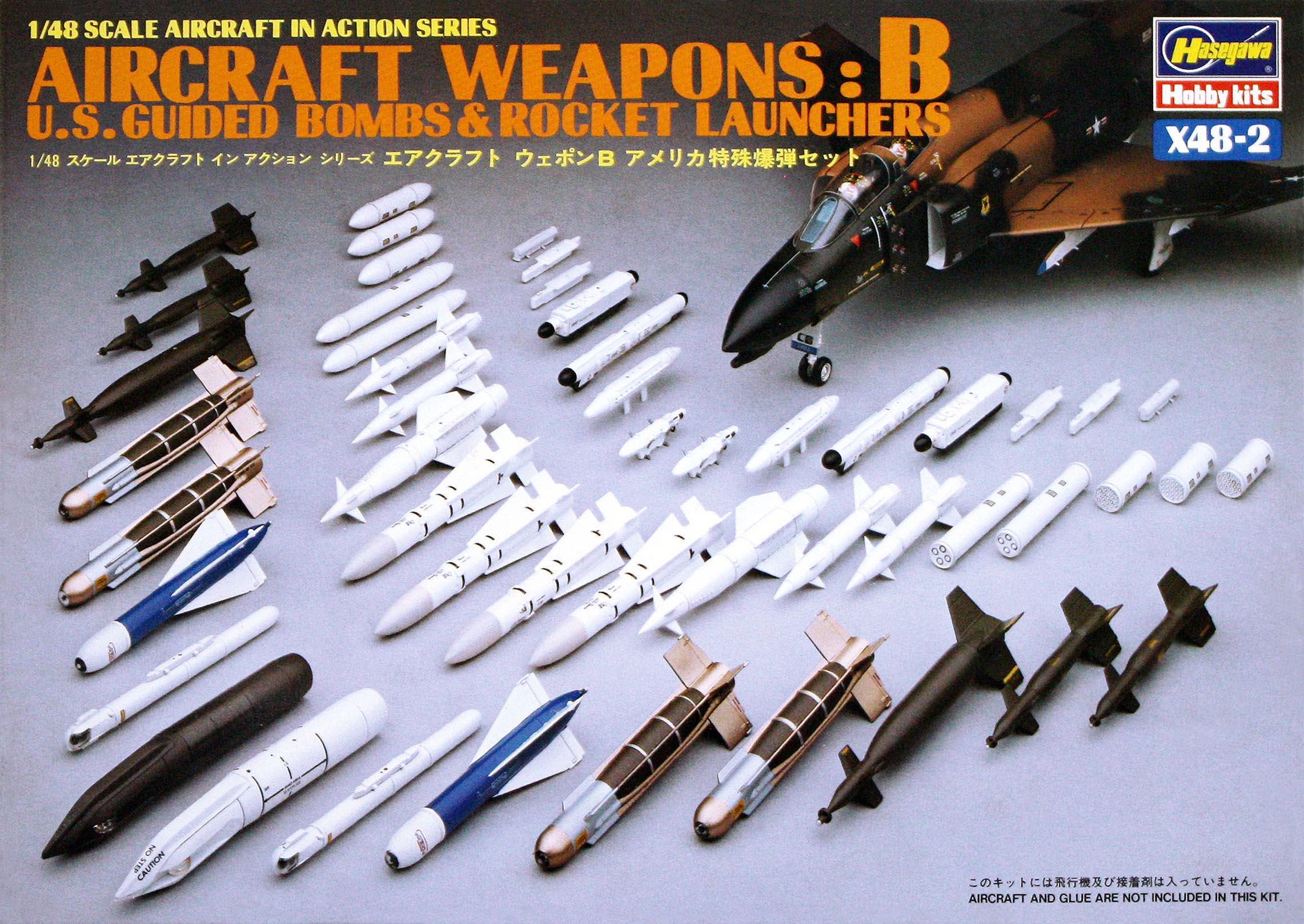 Hasegawa 1/48 US Aircraft Weapons B