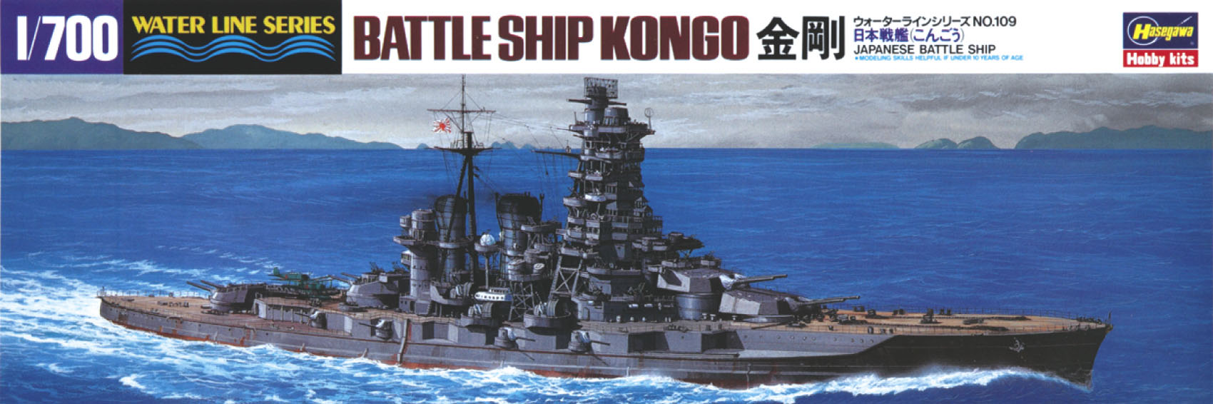 Hasegawa Ijn Battleship Kongo