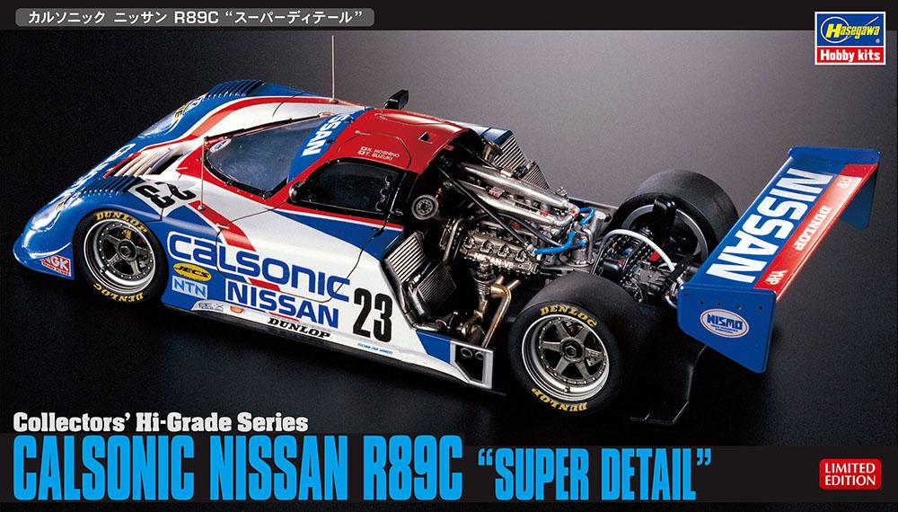 Hasegawa 1/24 Calsonic Nissan R89C Super Detail Kit, HJi Grade Series