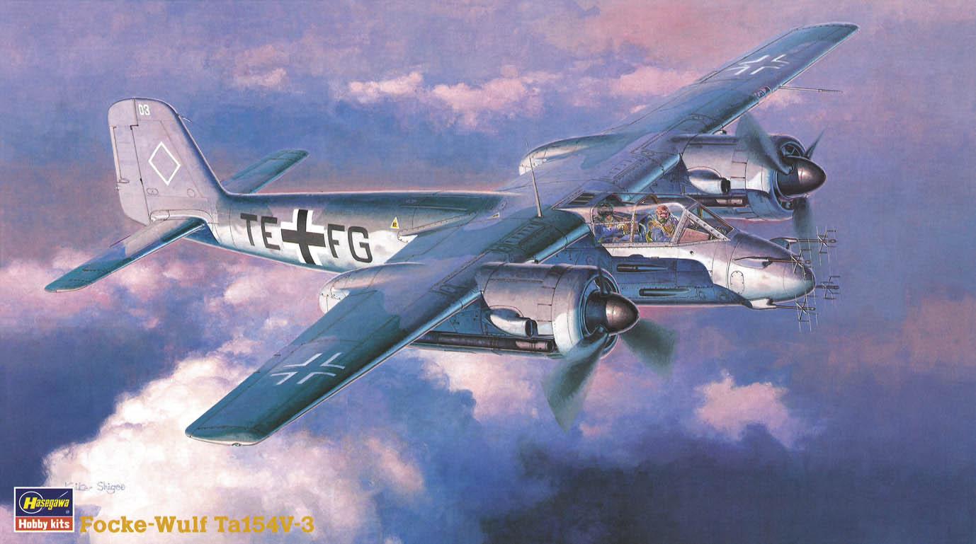 Hasegawa 1/72 Focke-Wulf Ta154V-3 MOSQUITO CP15