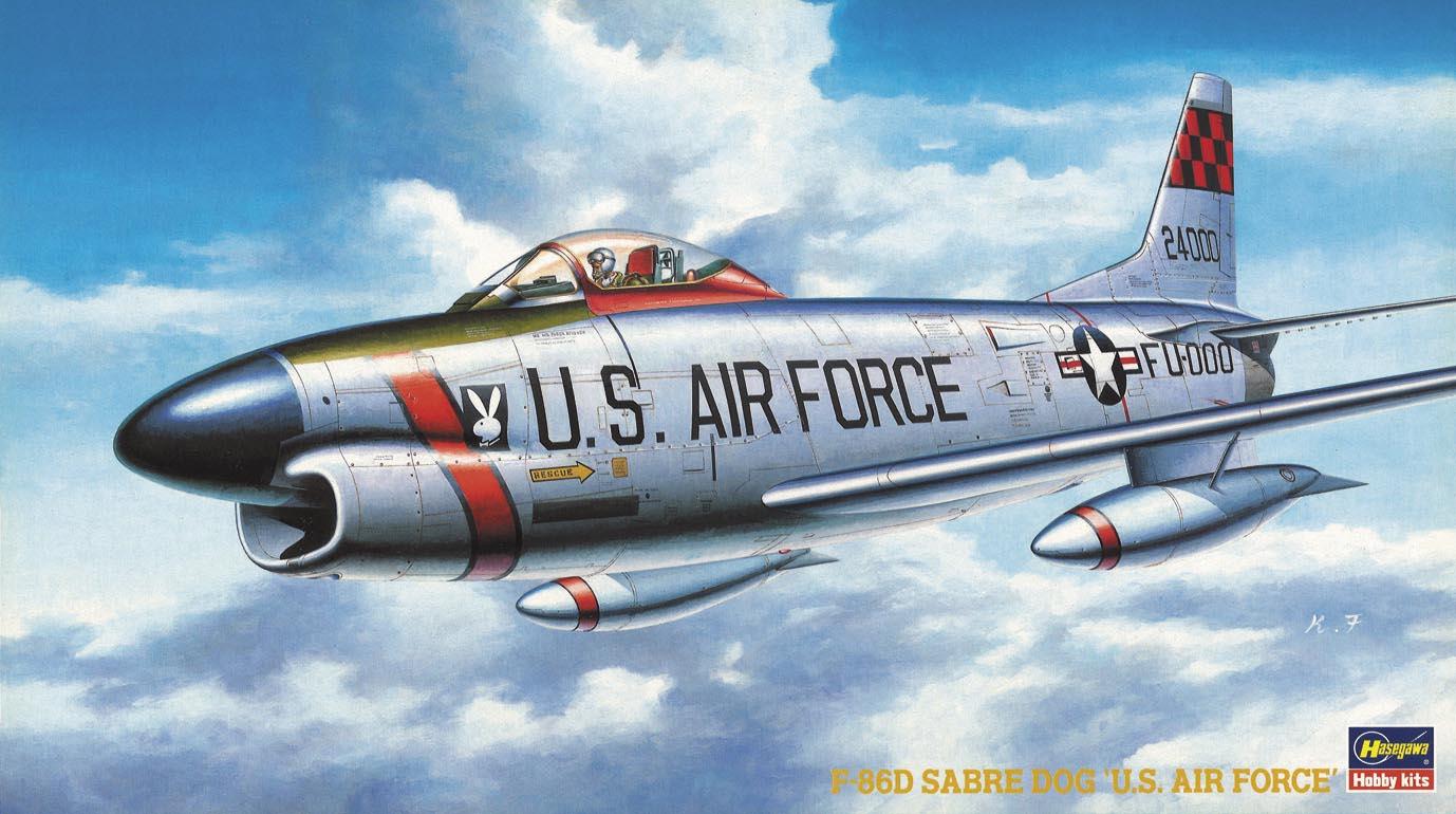 Hasegawa 1/72 F-86D SABRE DOG U.S.A.F. BP5