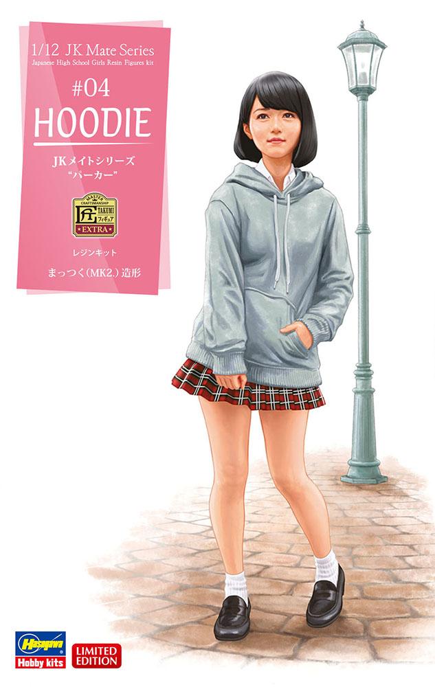 "Hasegawa 1/12 Jk Mate Series ""Hoodie"" (SP438)"